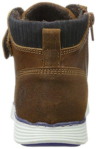 BULLBOXER Jungen Ahs505e6l Chelsea Boots Braun (Cognac)