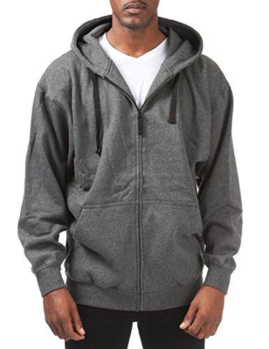 Pro Club Men's Comfort Full Zip Hood, 2X-Large, (Pro Club Sweatshirts)