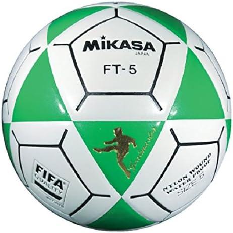 Mikasa FT5 Goal Master - Balón de fútbol, Color Verde y Blanco ...