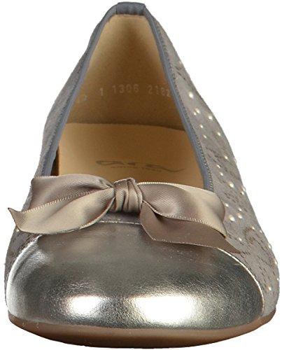 ara 12-31306G Womens Ballerinas Gray 1VMKGr0c2