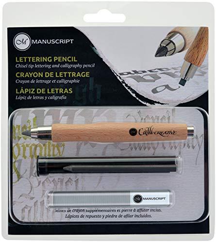 Manuscript CalliCreative Lettering Pencil Set 3/Pkg-Natural by Manuscript Pen (Image #1)
