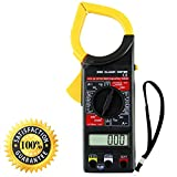 Digital Clamp Meter DT266 Multimeter with AC / DC Voltage Ampere Resistance Tester Ammeter Voltmeter Instrument