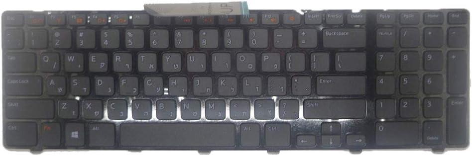 Laptop Keyboard for DELL Inspiron 17R N7110 7720 5720 V3750 XPS 17 L702X Hebrew HB 06VMHR 6VMHR AER09V00110 V119725AS3 New
