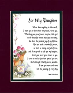 Amazon com: A Gift Present Poem For A Son Or Daughter  The