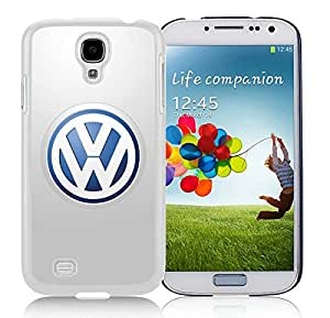 Perfect fit for your beloved phone,100% Brand New Volkswagen logo 5 White For Samsung Galaxy S4 i9500 Case