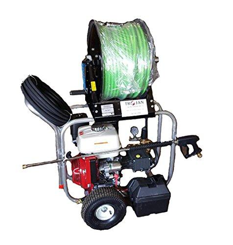 Trojan C4000 Cart Jetter (Gas) Plumbing Pressure Washer Sewer Drain Jet  Cleaner