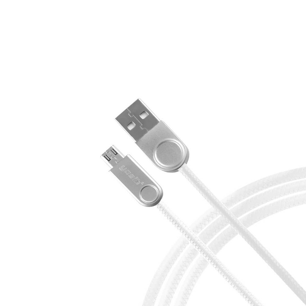 Micro USB Cable Charger Android Charger Super Durable Fast Sync Charging for Phones/Samsung/Kindle/MP3 Player and more,yosib (White 3 FT)