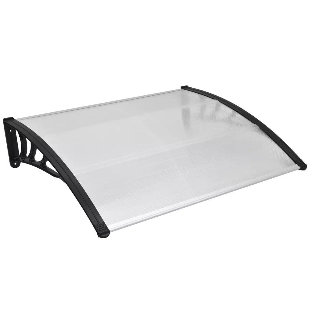 vidaXL Patio Awning 59''x39'' Outdoor Polycarbonate Front Door Window Canopy
