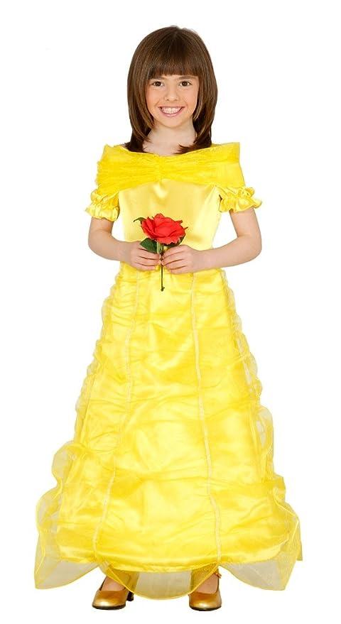 belle costume bambina  Costume da principessa vestito Belle bambina: : Sport e ...