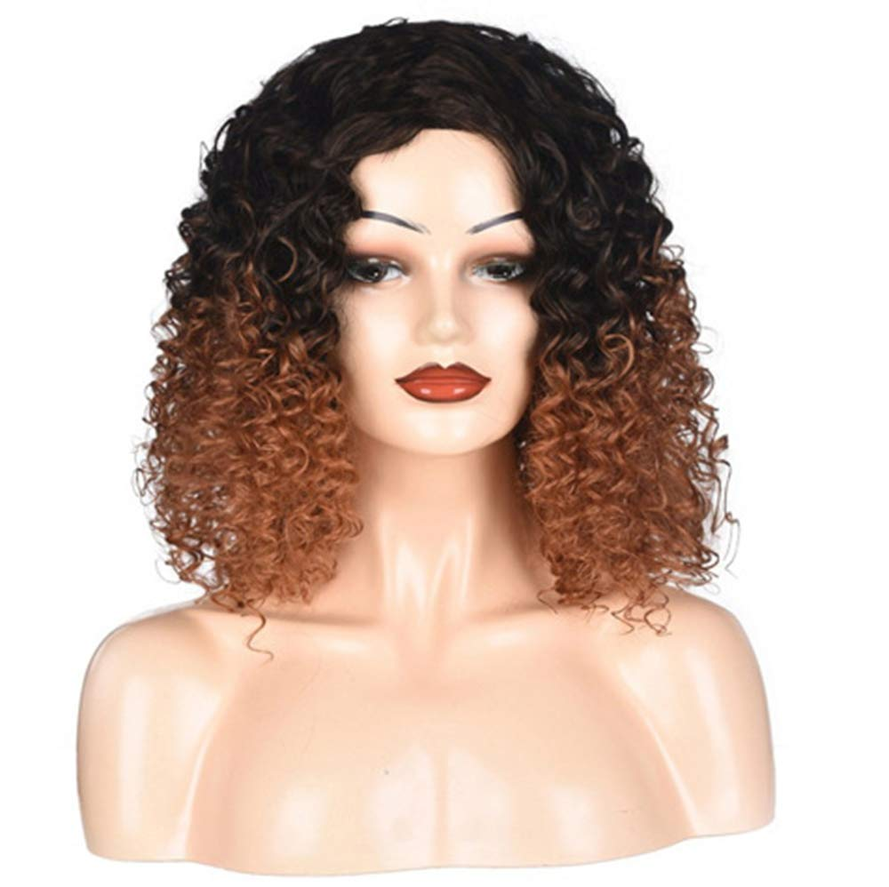 HXPH Long Wave Wigs Medium Length Bob Straight Synthetic Hair Full Wigs for Women Lace Wigs Heat Resistant Fiber Glueless Hair 197% Cosplay or Daily Use Wig for