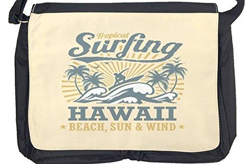Borsa Tracolla Trattore Rimorchiatori Surf alle Hawaii Stampato