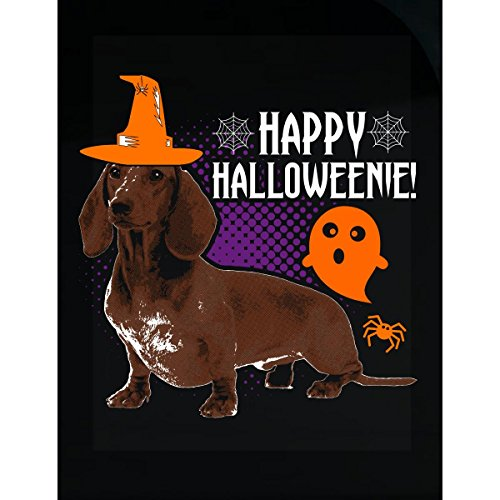 Esparosa Happy Halloweenie Halloween Dachshund - Sticker ()