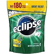 Eclipse, Spearmint Sugarfree Gum, 180 ct