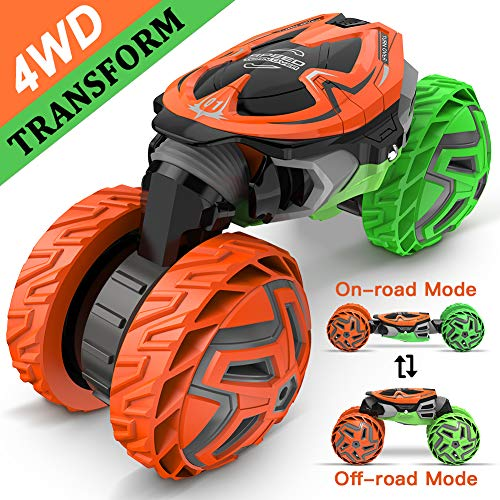 RC Truck, High Speed Remote Control Car 2.4Ghz Kids Toys Vehicles Buggy Off-Road Car Best Gift for -