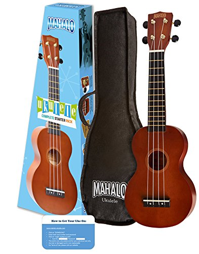 Mahalo Rainbow Series Soprano Ukulele Starter Pack (Amazon Exclusive) by Mahalo Ukuleles