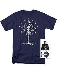 Señor de los anillos Árbol de Gondor T Camisa y exclusivo pegatinas