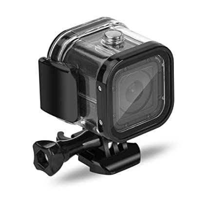 60m Dive Protective Housing Case for GoPro Hero 5 Session/Hero 4 Session/Hero Session, Nechkitter High Transmission Waterproof Housing Case for Hero ...