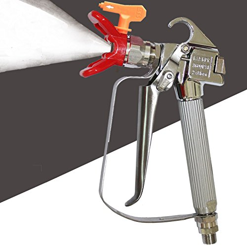Wagner Pump (Dutiger 8609102 Airless Paint Spray Gun,High Pressure 3600 PSI 517 TIP Swivel Joint for Graco Wagner Titan Pump Sprayer And Airless Spraying Machine (02))