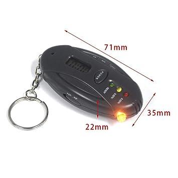 thorityau Respirador Digital Probador de Alcohol Detector de ...