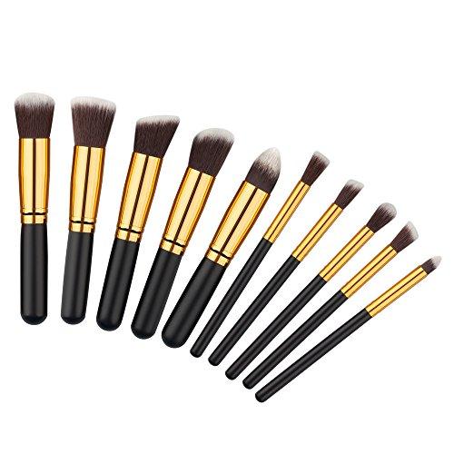 10-piece-kabuki-makeup-brush-set-hand-made-powder-foundation-buffing-concealer-blending-brushes-and-