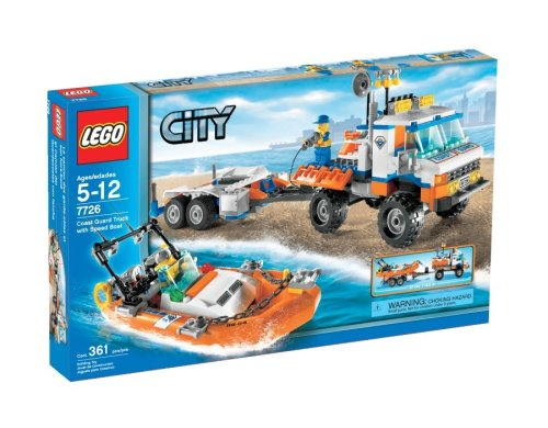 LEGO City Coast Guard Truck with Speed ()