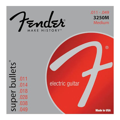 Super Bullets Nickel Plated Steel Strings 3250M Deluxe w/ Premium Guitar String Winder