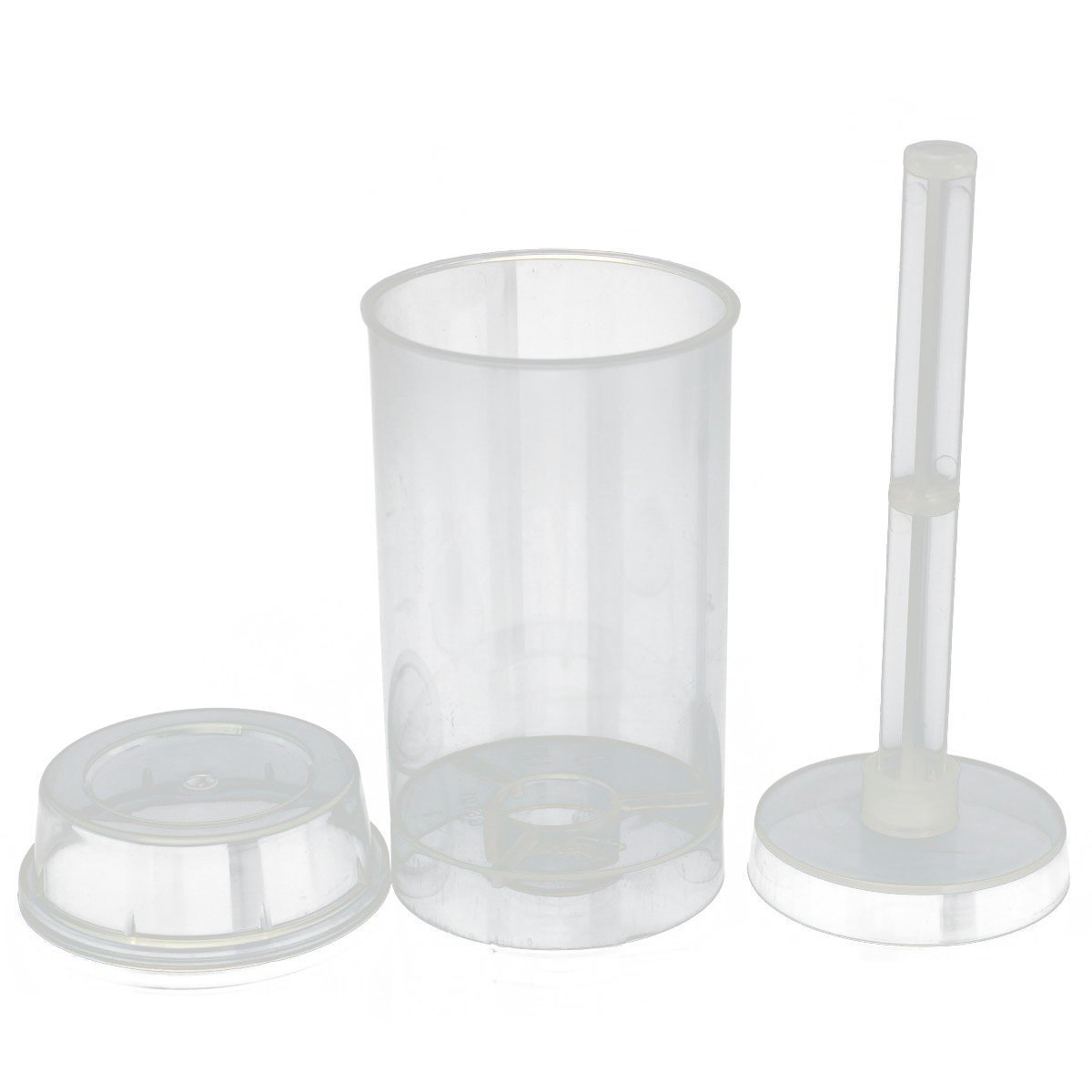 Cake mold - SODIAL(R) 10x Cakes Dessert Push Up Pop Containers Shooter Pop for Party Use SODIAL (R) SHOMAGT32032