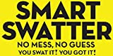 The Original SMART SWATTER Fly Swatter - Patented & Made in USA w/904 Spikes - Insect, Bug, Spider, Fly Killer - 2 Pack Colors May Vary