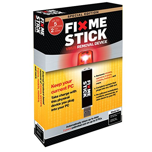 Price comparison product image FixMeStick - 5PCs for 2 Year - Special Edition - Virus Removal Device - Virus Cleaner - Antivirus on USB.