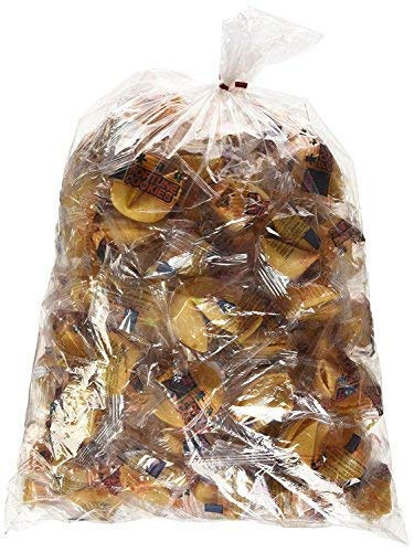 (100 Pcs Fortune Cookies Fresh Single Wrap(golden Bowl) )