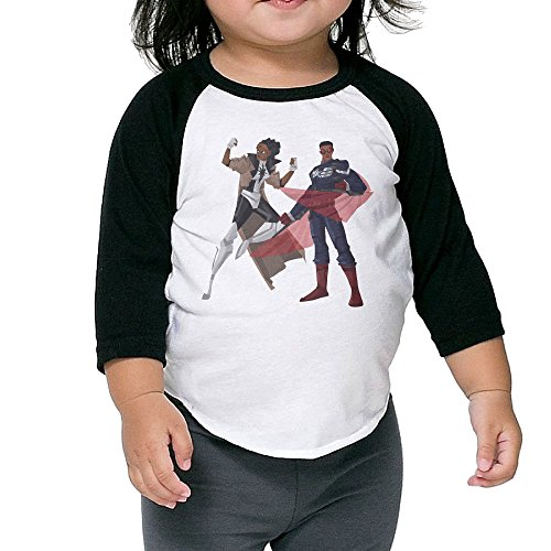 [Cayonom Child Kids Iron Fist Misty Knight Brothers Baseball Jersey T-Shirt 2 Toddler] (Iron Fist Costumes For Kids)