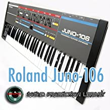 Roland JUNO-106 - Perfect Original Sound Library (Samples) on CD