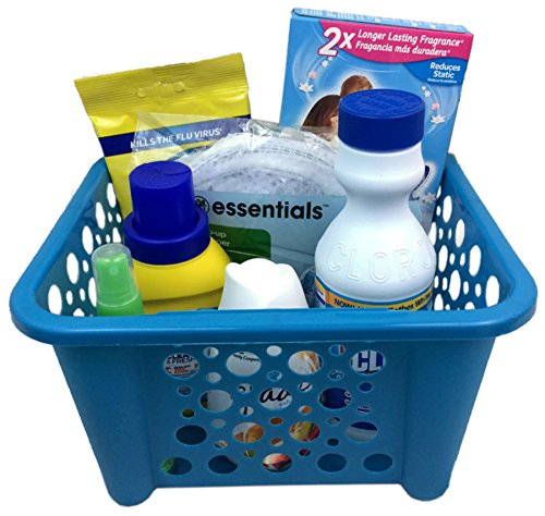 Away From Home Essentials Care Package ~ Great for College Student or House Warming (Laundry Essentials) (College Student Gift Basket Ideas)