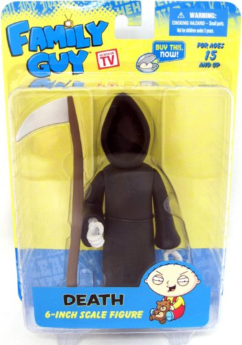 Mezco Toyz Family Guy Classic Series 3 Action Figure Death