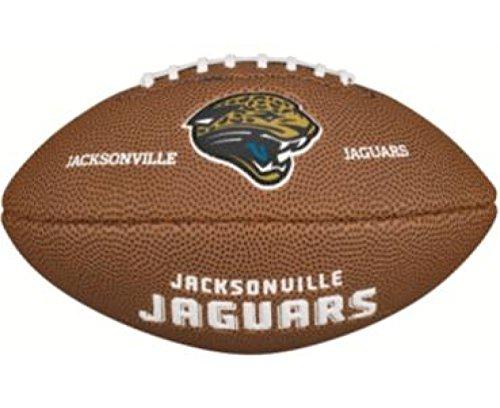 Wilson Jacksonville Jaguars Football - Wilson WTF1533IDJX NFL Team Logo Mini Size Football - Jacksonville Jaguars