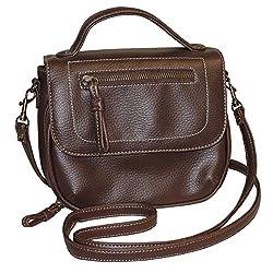 Buxton Morgan Kangaroo Sac Crossbody Bag