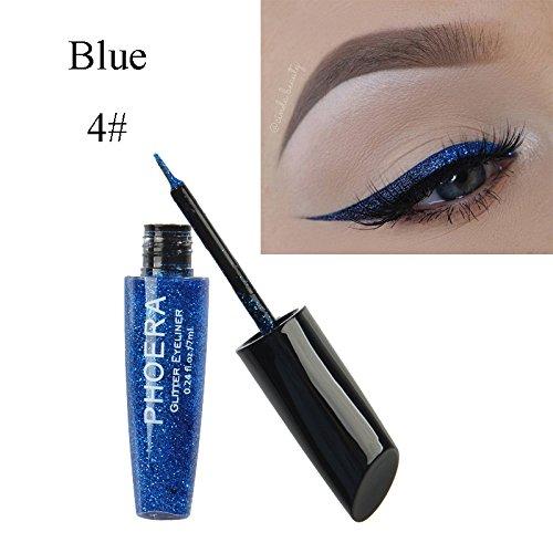 MEIQING Shimmer Glitter Eyeshadow Liquid Bling Eyeliner High