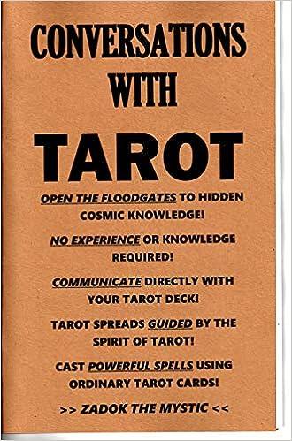 Conversations with Tarot book communicate with tarot cards deck