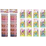 12 X Princess Notebooks & Princess Pencils - REFERENCE PBF163