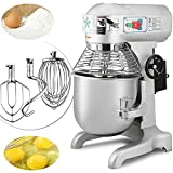 Cheap Happybuy Commercial Food Mixer 750W Dough Mixer Maker 3 Speeds Adjustable Commercial Mixer Grinder 94/165/386 RPM Stand Mixer (20 qt)