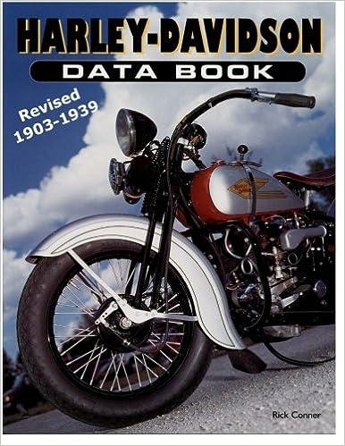Harley-Davidson Data Book Revised 1903-1939: Rick Conner