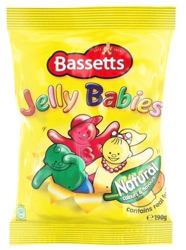 - Bassetts Jelly Babies 190g Bag x4 by Bassett's