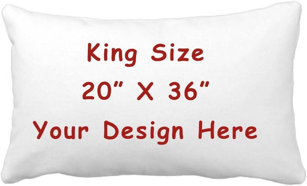 Amazon Com Rr Ddxu Design Customize Pillowcase Personalized Throw Pillow Pet Photo Pillow Cover Love Photo Pillowcase Wedding Keepsake Throw Pillow 20 X 36 King Size White Home Kitchen