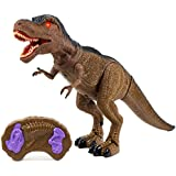 Toysery Remote Control Dinosaur Toy for Kids,...