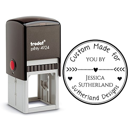 Customizable Personalized Inking Stamper Handmade