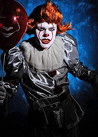 Magic Box Mens New Pennywise It Payaso Disfraz de Lujo con Peluca ...