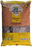 Organic Masoor Dal - Split Red Lentils Bulk - USDA Certified Organic - European Union Certified Organic - Pesticides Free - Adulteration Free - Sodium Free - 4 Lbs, 64 Ounces - 24 Mantra Organic
