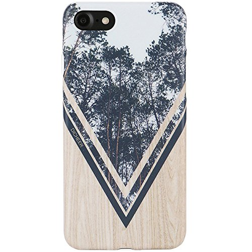 IPhone 7 CaseiPhone 8 CaseDICHEER Slim Fit Anti Finger Print Phone Cases 7IMD Soft TPU Case CoverWood Design For And 47