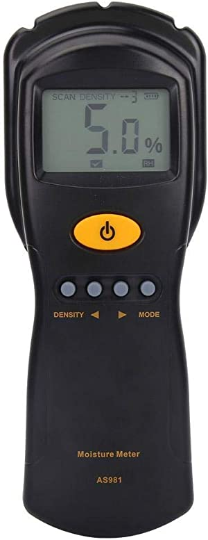 Pinless Wood Moisture Meter SMART SENSOR AS981 No-contact Digital Moisture Meter Detector for Wood, 2%~70%