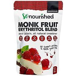 Granular Monk Fruit Sweetener with Erythritol